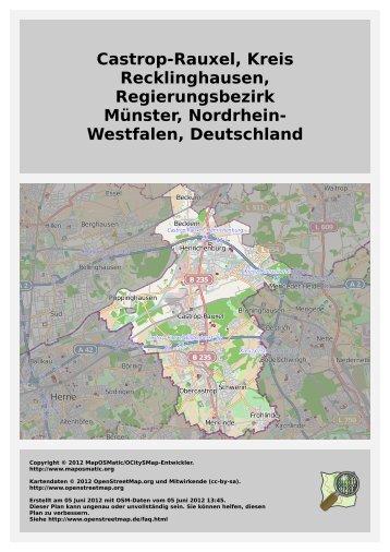 Castrop-Rauxel, Kreis Recklinghausen ... - MapOSMatic