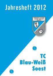 Jahresheft 2012 - Tennisclub Blau Weiss Soest eV