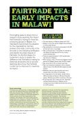 Malawi - The Fairtrade Foundation - Page 2
