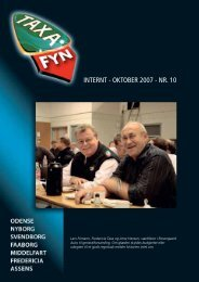 INTERNT - OKTOBER 2007 - NR. 10 - Taxa Fyn