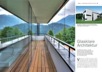 Glasklare Architektur - Fenster Visionen