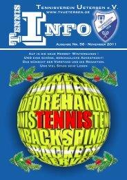 Ausgabe 56-Nov 2011-web.pdf - Tennisverein Uetersen e. V. 1926