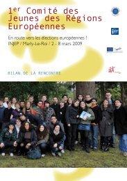 1er Comité des Jeunes des Régions Européennes - Maison de l ...
