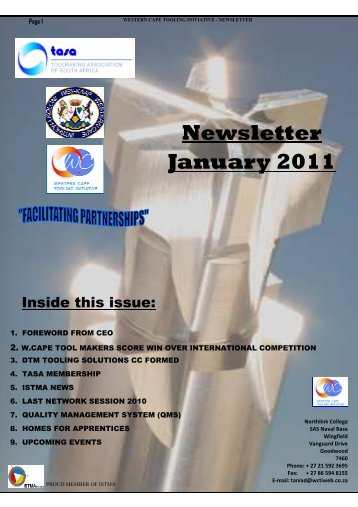 Newsletter January 2011 - TASA