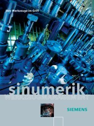 sinumerik WS_RZ.fh8 - Siemens Automation and Drives Group
