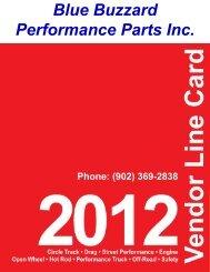 Blue Buzzard Performance Parts Inc. (902) 369-2838