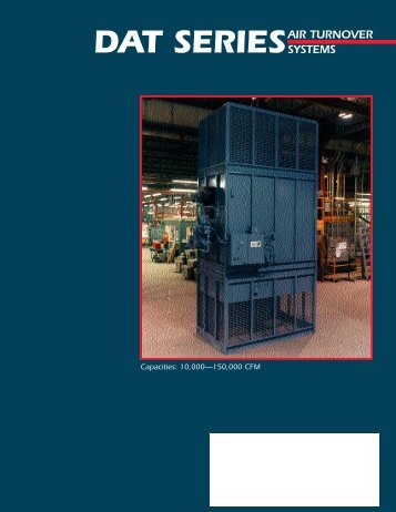 DAT SERIESAIR TURNOVER SYSTEMS - Temprite Climate Control ...
