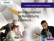 Skills Development for Manufacturing Excellence. - AIDC