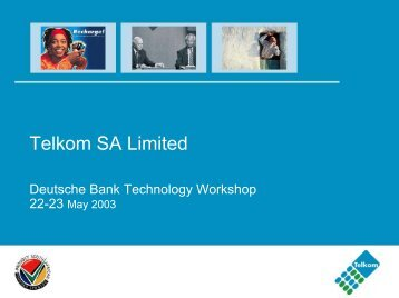 Telkom SA Limited, Deutsche Bank Technology workshop,22