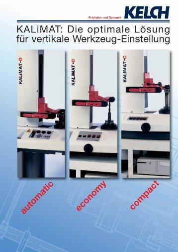 KALiMAT: Die optimale Lösung für vertikale Werkzeug ... - Surplex