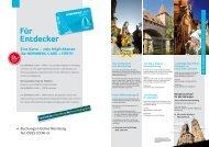 Buchungs-Hotline Nürnberg Tel. 0911 2336-0