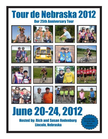 June 20-24, 2012 - Tour de Nebraska