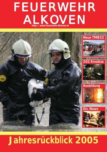 Jetzt downloaden! - Freiwillige Feuerwehr Alkoven