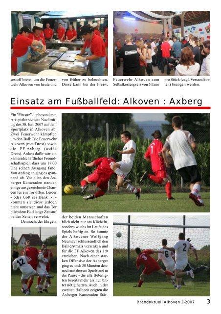 13. Jahrgang - Ausgabe Nr. 82 3. Juli 2007 - Freiwillige Feuerwehr ...