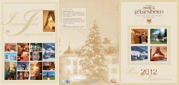 Saisonzeiten Sommer Saisonzeiten Winter 2012 - Ansitz Felsenheim