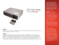 TDP—T95/TW95 - Toshiba Canada