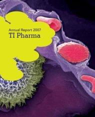 TI Pharma Annual Report 2007 PDF