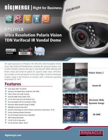 DPV24TLX Spec Sheet - Digimerge