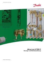 Akva Lux II TDP-F - Fernwärme-Komponenten - Danfoss