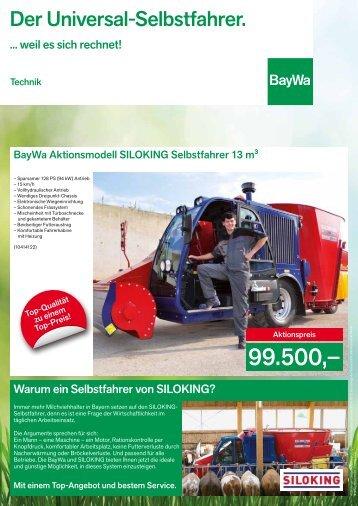 Der Universal-Selbstfahrer. - BayWa AG