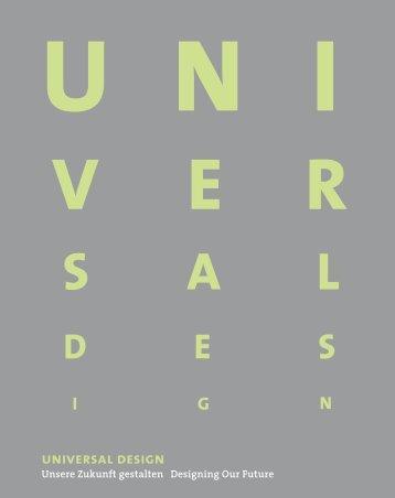 universal design - IDZ | Internationales Design Zentrum Berlin
