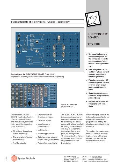 ELECTRONIC BOARD - hps SystemTechnik