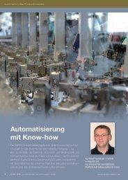 Automatisierung mit Know-how - SMATECH Automatisierungstechnik