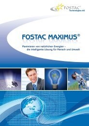 FOSTAC MAXIMUS FOSTAC MAXIMUS - Fg1.at Werbeartikel