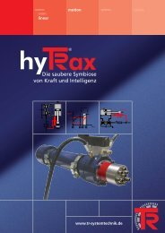 hyTRax - Intelligenz inklusive - TR-Electronic GmbH
