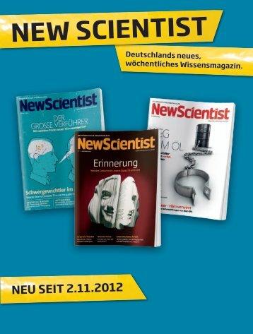Werbung im neW ScientiSt - Spiegel-QC