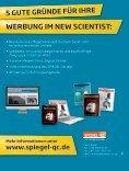Werbung im neW ScientiSt - Spiegel-QC - Seite 4