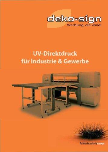 UV-Druck Online Broschüre Kopie.pdf - deko-sign Werbetechnik