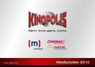 Werbung - Kinopolis
