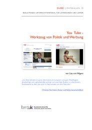 You Tube - Werkzeug von Politik und Werbung - Mediaculture online