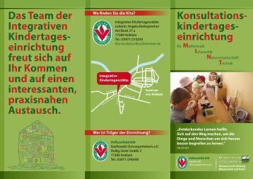 Konsultations- kindertages- einrichtung DasTeam der Integrativen ...