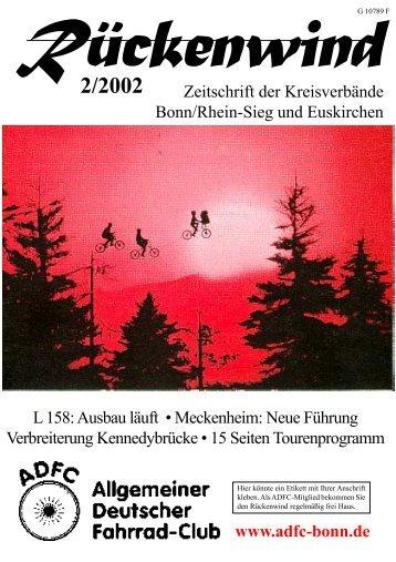 2/2002 - ADFC Bonn/Rhein-Sieg - (ADFC), Kreisverband Bonn ...