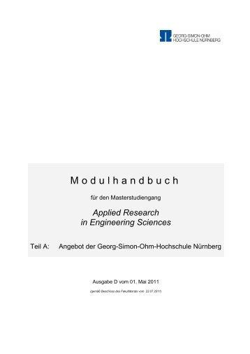 Modulhandbuch - Elektrotechnik Feinwerktechnik ...