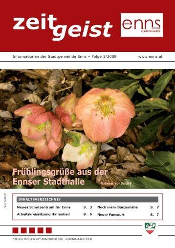Gemeindezeitung Februar 2009 - Enns