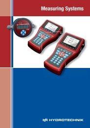 Measuring technology catalog - Hydrotechnik