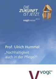 3. Pflege ist als ein interdisziplinäres System zu ... - Vogt GmbH