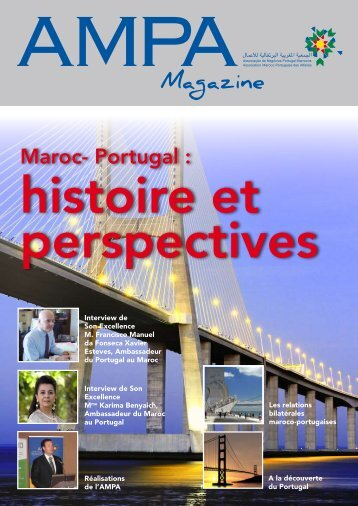 Magazine - AMPA :: Association Maroco Portugaise des Affaires
