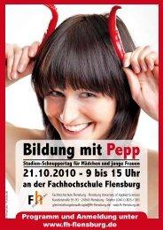 Bildung mit Pepp - Fachhochschule Flensburg