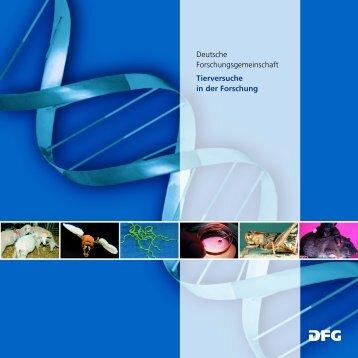 DFG-Tierversuche in der Forschung