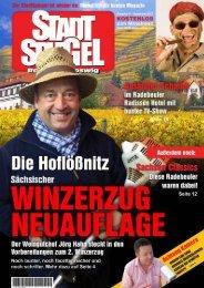 """Er stellte seine """"Schwarte"""" in seiner """"Hornzsche"""" - 1. FC Radebeul"""