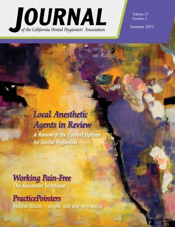 Summer 2011 Local Anesthetic Agents in Review - The Complete ...