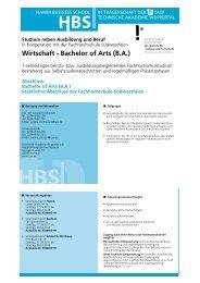 Bachelor of Arts - Studium neben Ausbildung und Beruf in Bochum ...