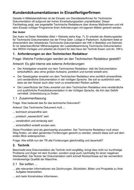 Vorlage Fur Die Projektdokumentation It Berufe Podcast 12