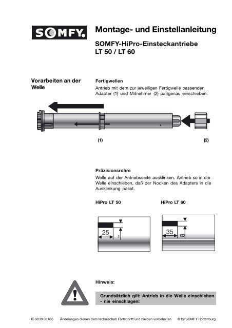 Somfy Rolladenmotor Schaltplan