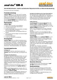 seal-tec RM-B (Technische Information) - ist-web.com
