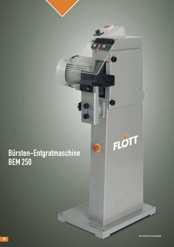 Bürsten-Entgratmaschine BEM 250 - Sax